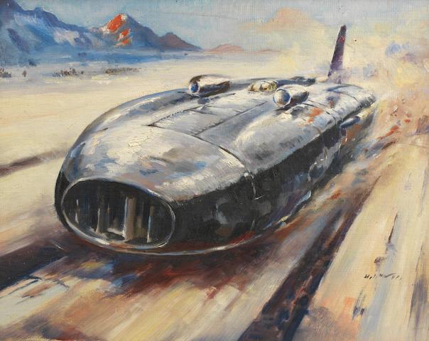 H. J. Moser, 'Thunderbolt', 1938,