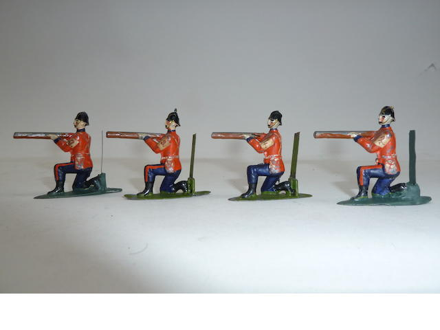 Britains set 25, Soldiers that will Shoot 35