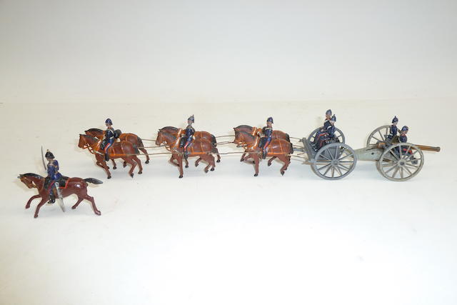 Britains set 144, Royal Field Artillery 13