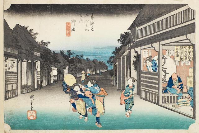 Ando Hiroshige (1797-1858) Circa early 1830's