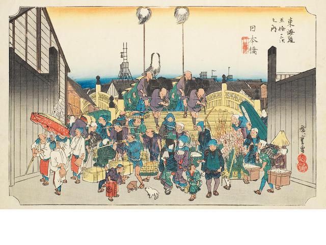 Ando Hiroshige (1797-1858) Circa 1830's