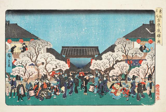 Ando Hiroshige (1797-1858) Circa 1840