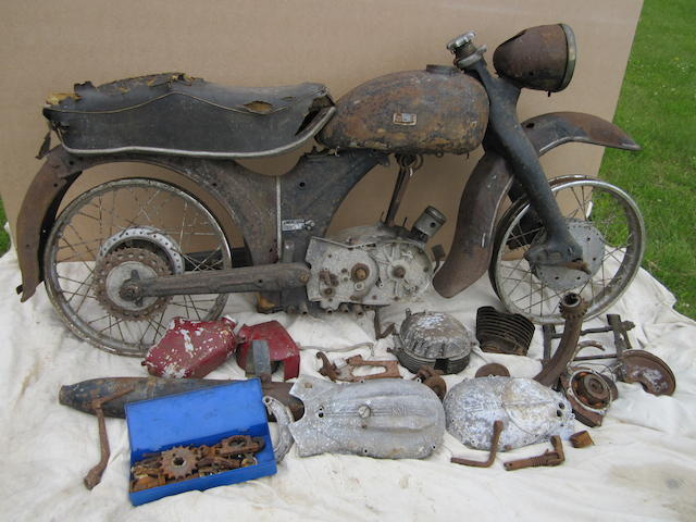 1955 NSU 247cc Max Frame no. 1292937 Engine no. 792565
