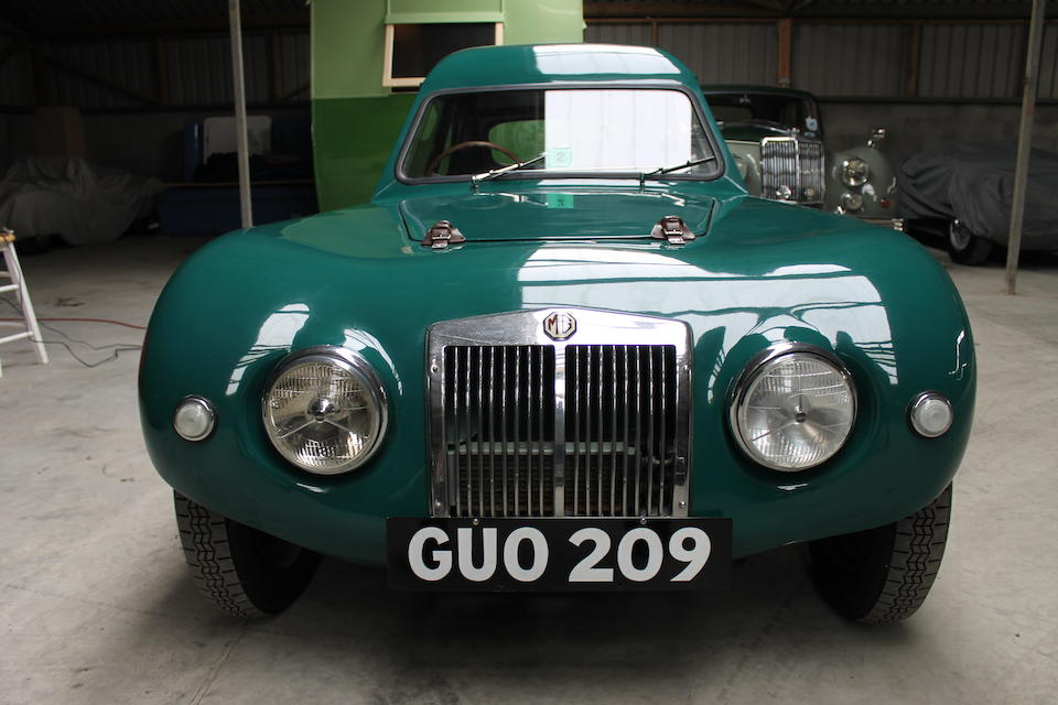 The ex-Maurice Toulmin, Bernard Harding,c.1954 Lester-MG T51 Coupé  Chassis no. 0734 Engine no. 20264