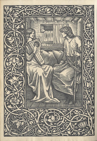 KELMSCOTT PRESS The Romance of Sir Degrevant [Sire Degravaunt], LIMITED TO 350 COPIES, 1896