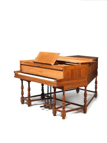 Sir Edwin Lutyens A Rare Semi-grand Broadwood Piano from Orchards near Godalming, 1903