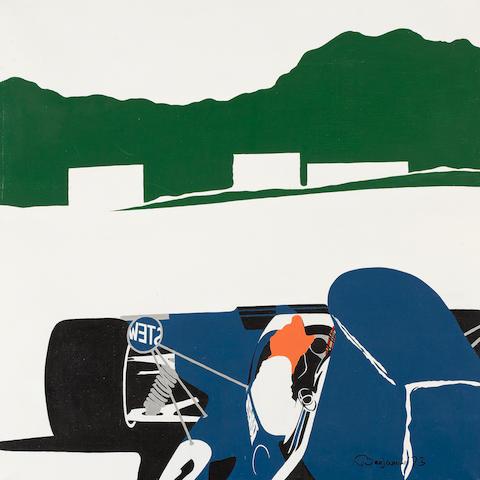 Arthur Benjamins (1953- ); 'Jackie Stewart - World Champion'