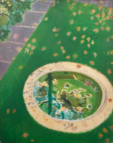 Peter Snow (1927-2008) Garden Pond and Path; Garden Pond (a pair)