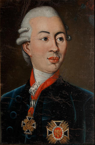 German School, 18th Century Portrait of a Prince, believed to be Frederick Wilhelm II, of Prussia (1786-1797)