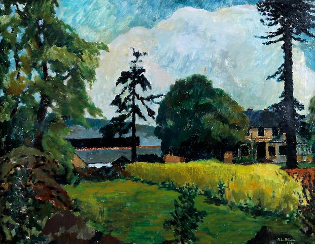 John Elwyn (British, 1916-1997) 'Llanishen House Cardiff'