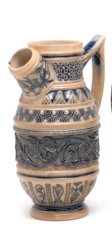 Walter Fraser Martin an Early Decorative Ewer, circa 1874