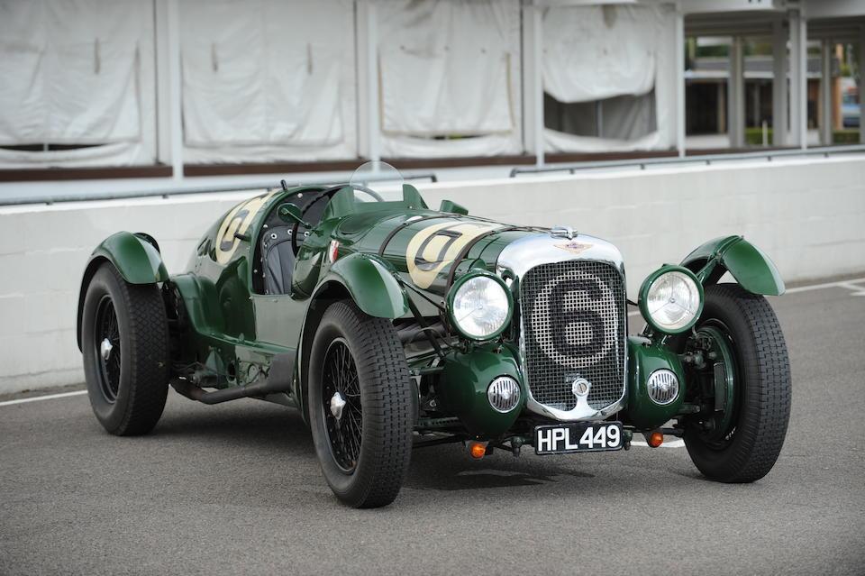 The ex-Works/Lord Selsdon & Lord Waleran,1939 Lagonda V12 Le Mans Team Car  Chassis no. 14090