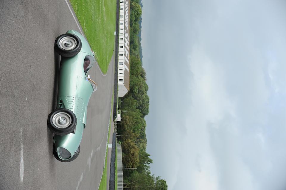 The ex-Works, ex-Bill Morris,1954 Kieft-Climax V8 Formula 1 Racing Single-Seater  Chassis no. GP1 Engine no. EXP1