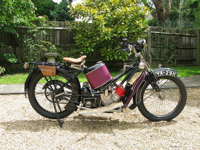 1922 Scott 532cc Standard Tourer Frame no. 2558 Engine no. 6034