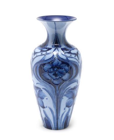 Moorcroft a Florian Ware daffodil vase, circa 1900