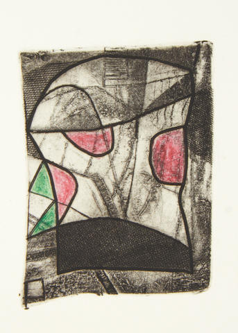 Bryan Ingham (British, 1936-1997) A Collection Four etchings, one with handcoluring, 1980-1982, each on wove, each signed, titled and dated in pencil, three numbered 8/125 and one inscribed 'T/P', a trial proof aside from the edition, various sizes, (4) (unframed)