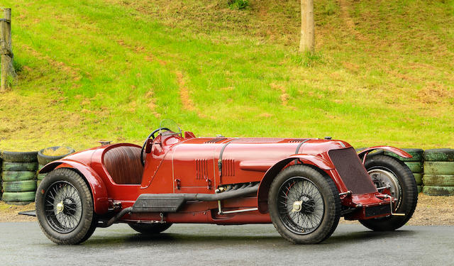 1929-30-Type Maserati V4 Sedici Cilindri By Hartley Formule Libre Grand Prix Racing Two-Seater  Chassis no. 4001.AH Engine no. 4001.AH