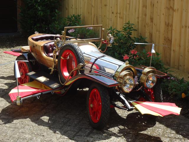 A 'Chitty Chitty Bang Bang' child's car,