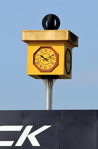 Starkey' Bridge Pirelli clock