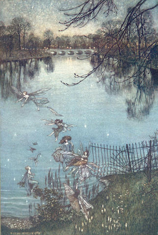 BARRIE (J.M.) Peter Pan in Kensington Gardens, 1906