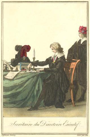 FRANCE, COSTUME Collection de nouveaux costumes des autorités constituées civils et militaires, [Paris, 1796]