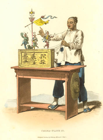 ALEXANDER (WILLIAM) Picturesque Representations of the Dress and Manners of the Chinese, 1814