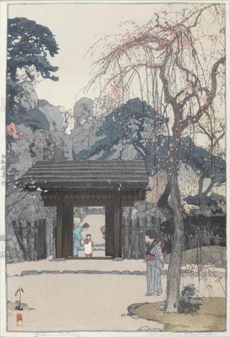 Yoshida Hiroshi (1876-1950) Dated 1930, 1934 and 1936