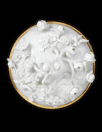 A very rare Meissen royal écuelle and cover, circa 1735-38