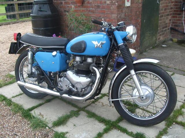1960 Matchless 498cc 'Model G9' Frame no. A75249 Engine no. 61/31CSR X6801