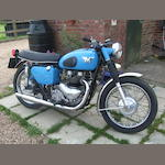 1960 Matchless 498cc 'Model G9' Frame no. A75249 Engine no. 61/31CSR X6801