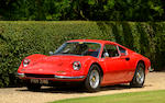 1972 Ferrari Dino 246GT Berlinetta  Chassis no. 05240 Engine no. 05240