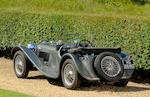 1937 SS100 Jaguar 2½-Litre Roadster  Chassis no. 49017 Engine no. L368E (originally L1017E)