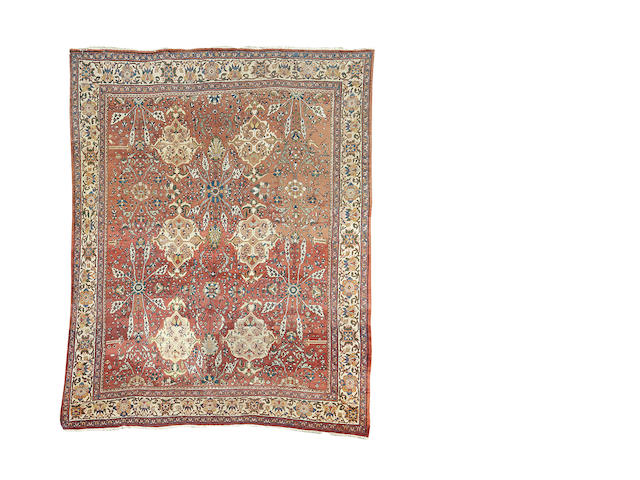 A Mahal carpet, West Persia, 387cm x 310cm