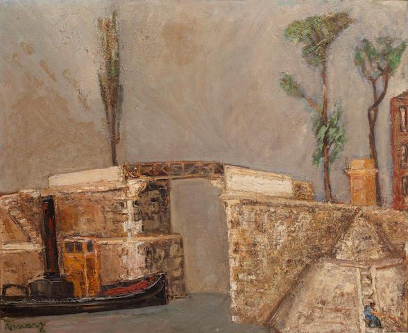 Jean Vinay (French, 1901-1978) Veux Pont Charenton, Paris