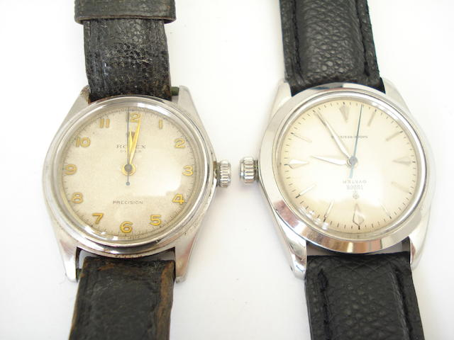 Two gentleman's wristwatches, one by Tudor and one by Rolex (2)