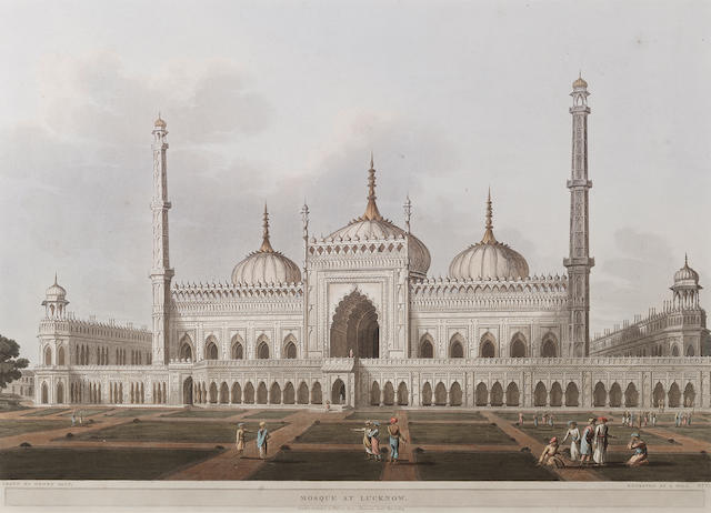 Mosque at Lucknow, after Henry Salt (1780-1827)