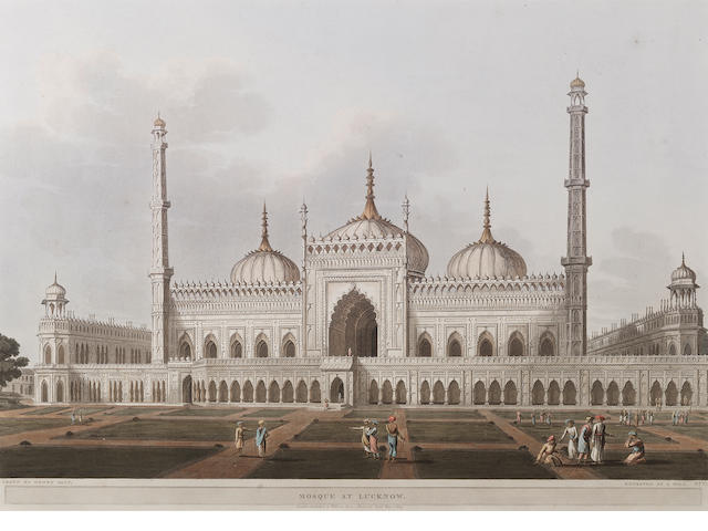 Mosque at Lucknow