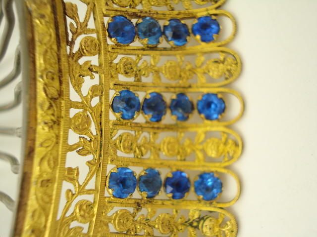 ******CHECK CLIENT HAS GIVEN GO AHEAD**** A 19th century tiara
