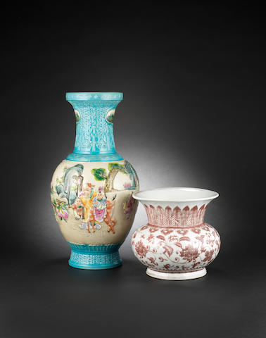 Two porcelain wares