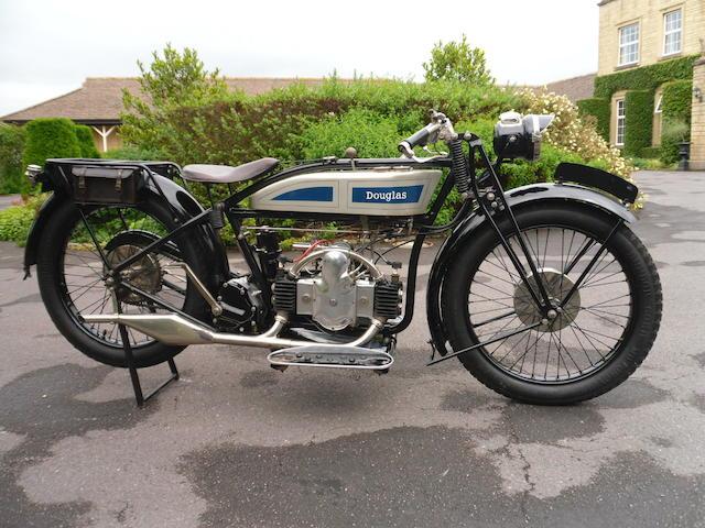 1926 Douglas 348cc EW Frame no. MF659 Engine no. YE693