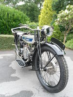 1926 Douglas 348cc EW Frame no. MF659 Engine no. YE693