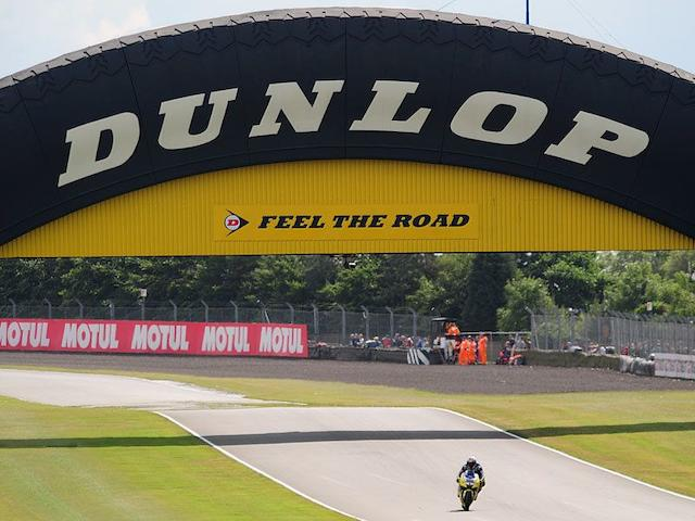 A set of 'Feel the Road' Dunlop advertising panels,