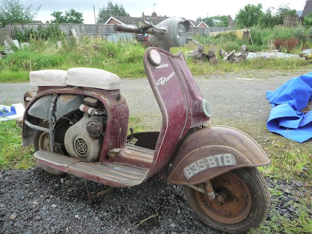 1957 Durkopp 194cc Diana Frame no. 114089 Engine no. 114089
