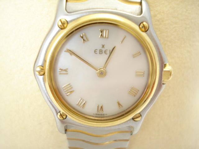 A lady's 'Sport Classique' quartz wristwatch, by Ebel