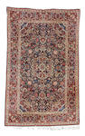 A pair of Kashan rugs, Central Persia, 208cm x 133cm (2)