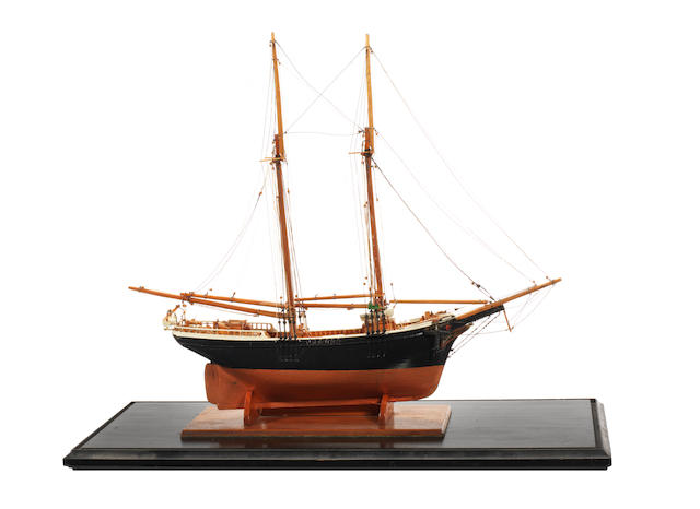 A model of the Nova Scotia schooner Rambler 1889 22x10x17ins. (56x25x43cm)