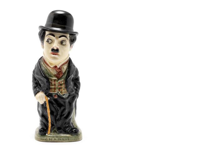 Doulton Burslem A Rare 'Charlie Chaplin' Standing Jug and Cover, 1918