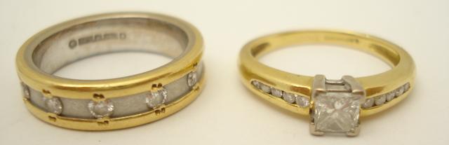 Two diamond rings (2)