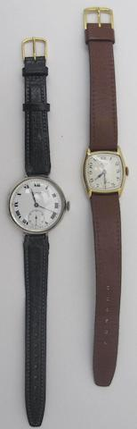 Two gentleman's wristwatches, by Benson (2)