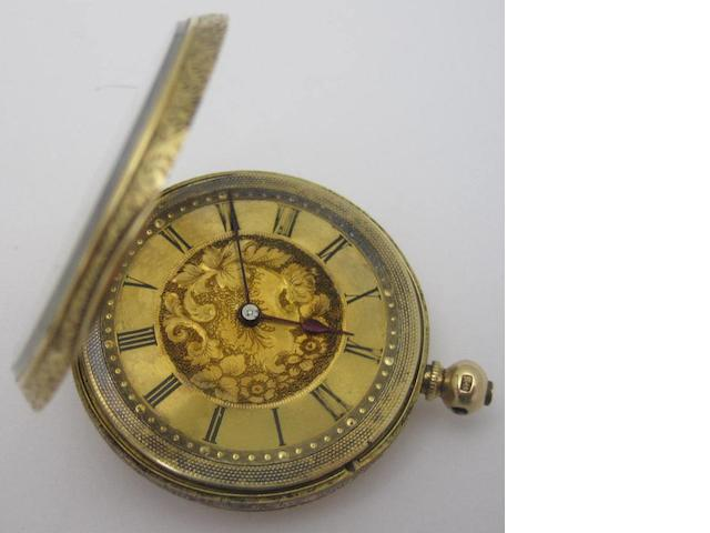 A lady's early 20th century fob watch